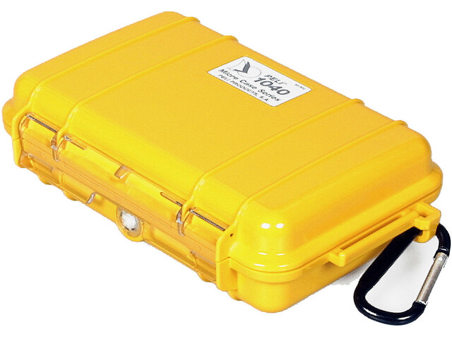 Peli MicroCase 1040, yellow